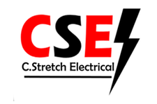 C. Stretch Electrical Retina Logo